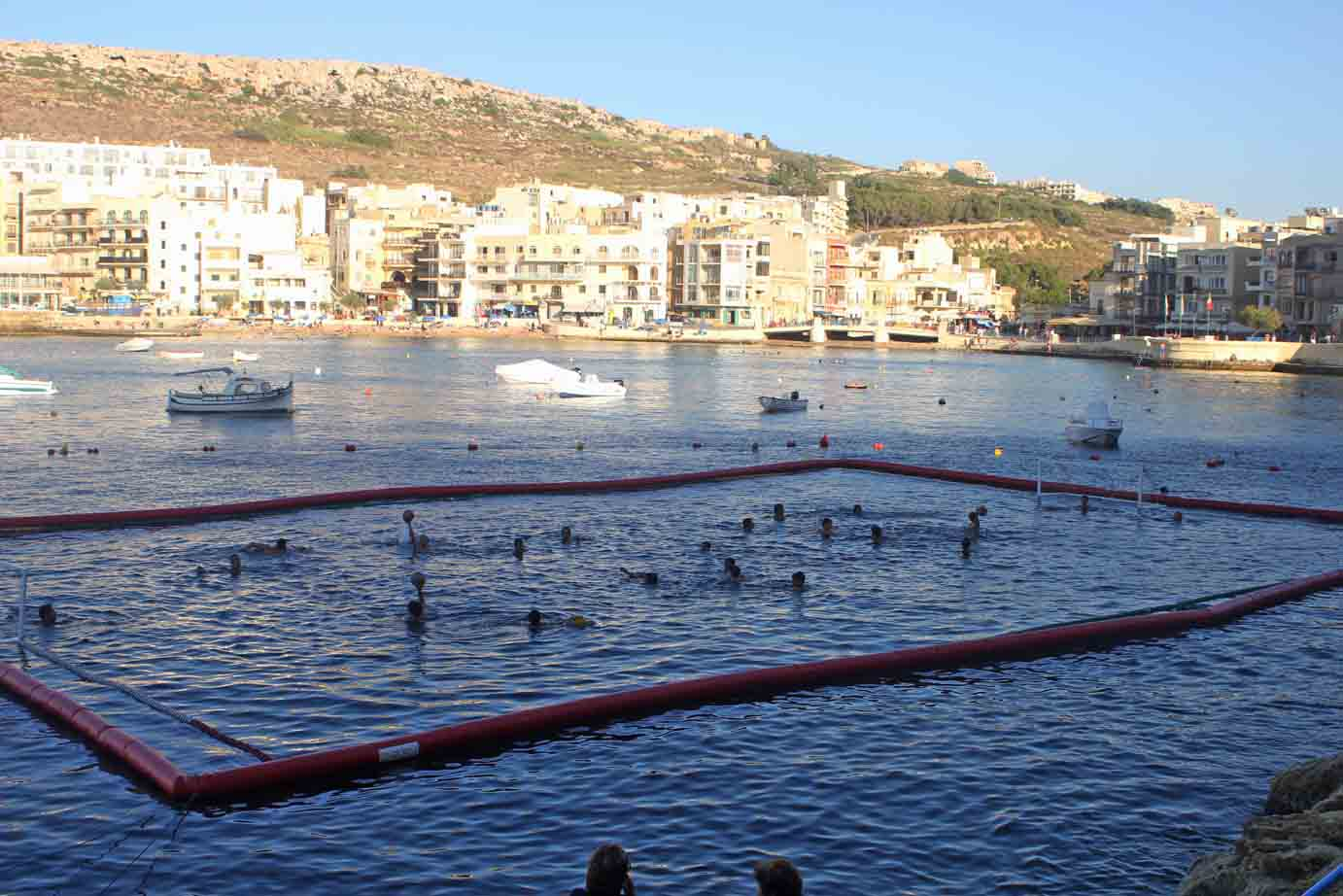 Boomswim Water Polo pool pitch in Malta