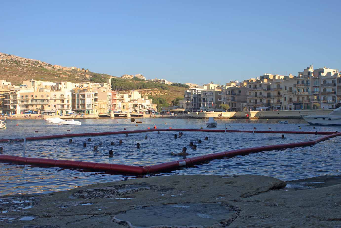 Boomswim in Malta for Waterpolo