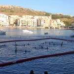 Boomswim in Malta waterpolo x 2